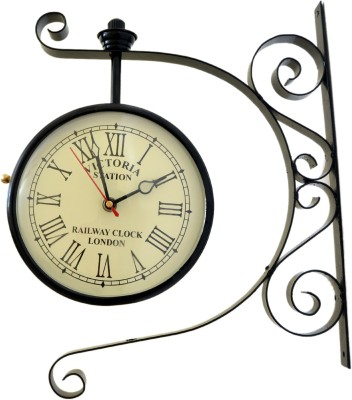 vintage art and crafts vintage style Analog Wall Clock