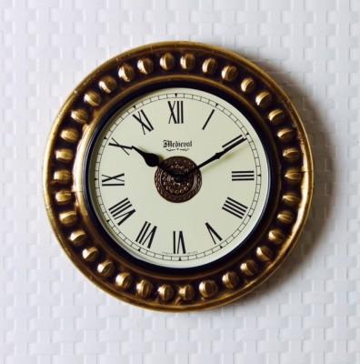 Medieval India Analog 29 cm Dia Wall Clock
