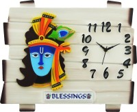 feelings Analog Wall Clock(White, Without Glass)