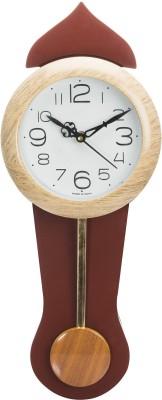 Wallace Avio707-PP Ivory Pendulum Analog Wall Clock