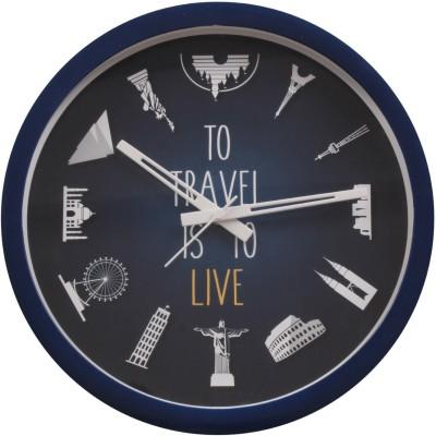 Pungraffiti clock Analog Wall Clock