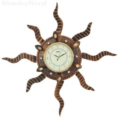 WonderWood Analog 30 cm Dia Wall Clock