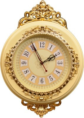 Wallace Optra1047-Ivory Crown Jewel Series Analog 33 cm Dia Wall Clock