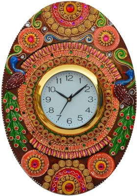 JaipurCrafts Analog 10.16 cm Dia Wall Clock