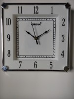 AJANTA OREVA Analog Wall Clock(White, With Glass)