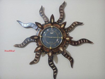 You2Deal Analog 30 cm Dia Wall Clock