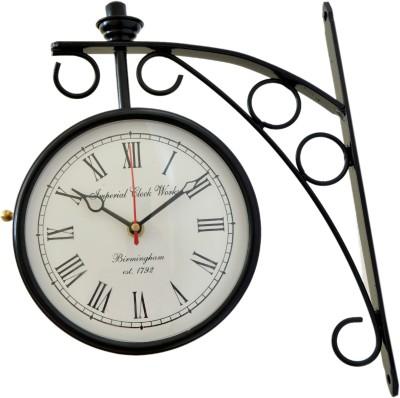 Vintage Art And Crafts Analog Wall Clock