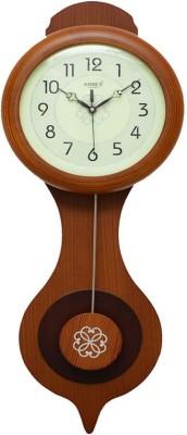 ARREX WOODEN PENDULUM CLOCK Analog Wall Clock