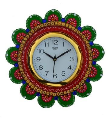 eCraftIndia Analog 23 cm Dia Wall Clock