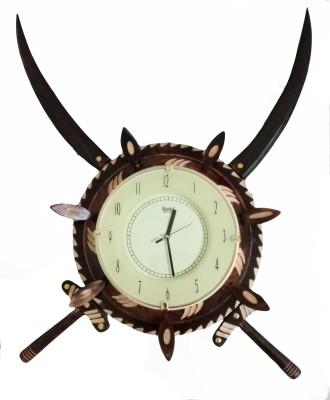 WonderWood Analog 38 cm Dia Wall Clock