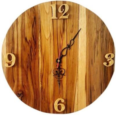 Simple Woods Analog 30.48 cm Dia Wall Clock
