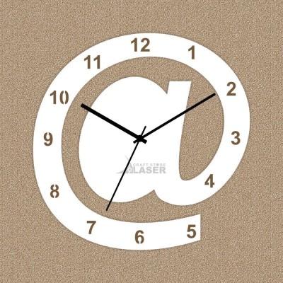Laser Craft Store Analog Wall Clock