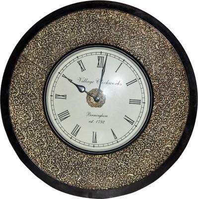 Lal Haveli Analog 25.4 cm Dia Wall Clock
