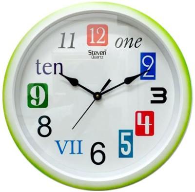 PV STEVEN Analog Wall Clock