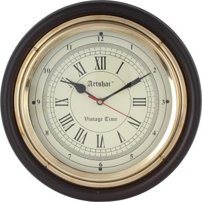 Artshai Analog 30 cm Dia Wall Clock