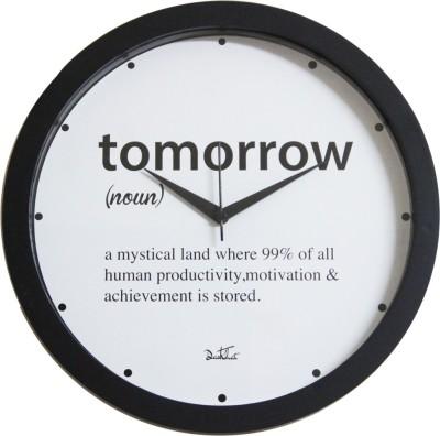 Dastkhat Analog Wall Clock