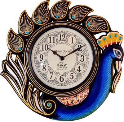 Vintage Clock Analog 30 cm Dia Wall Clock