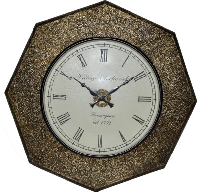 Lal Haveli Analog Wall Clock