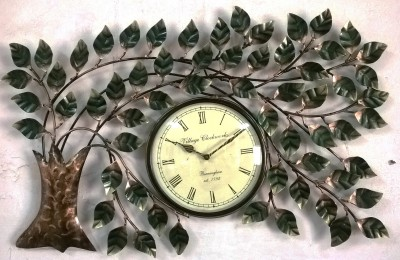 Village Clock Analog Wall Clock