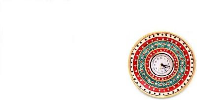 Antique Handicrafts. Analog Wall Clock