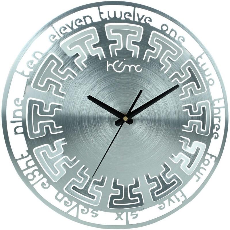 Home Analog Wall Clock Antique Alluminium Beauty Microcosm