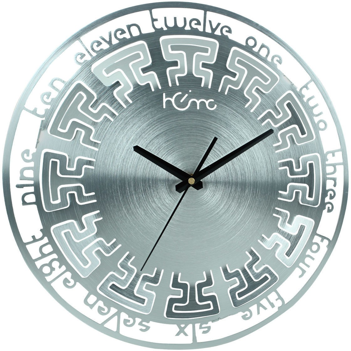 best shiny silver colours wall clocks pricing in december 22 home analog wall clocklowest price