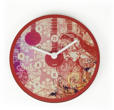 Mad(e) in India Analog 25.4 cm Dia Wall Clock