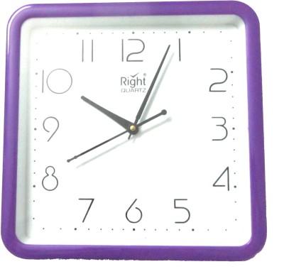 Right Analog Wall Clock