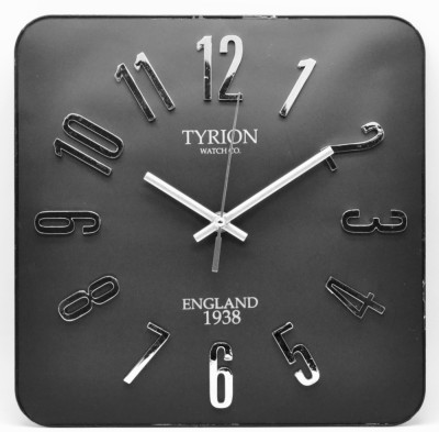 TYRION WATCH Co. Analog Wall Clock