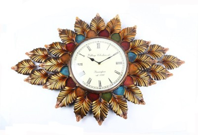 Traje Village Clock Works Analog Wall Clock