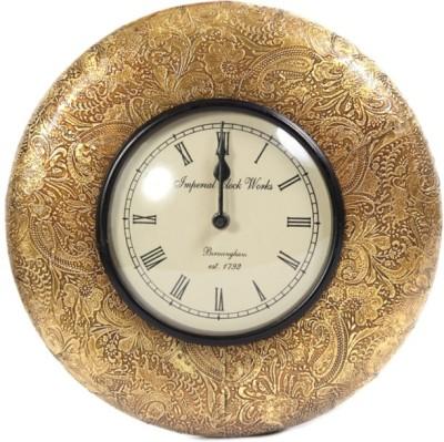 Imperial Clock Works Analog 29 cm Dia Wall Clock