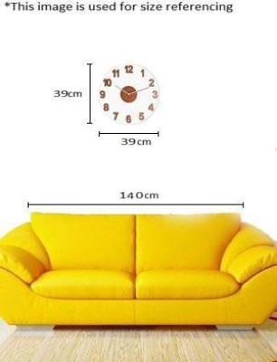 Nextime Analog 38.862 cm Dia Wall Clock