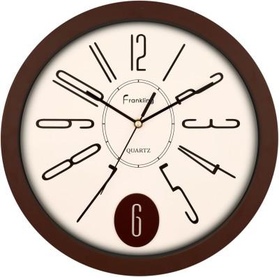 Frankling Analog 34 cm Dia Wall Clock