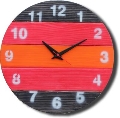 woodabble Analog Wall Clock