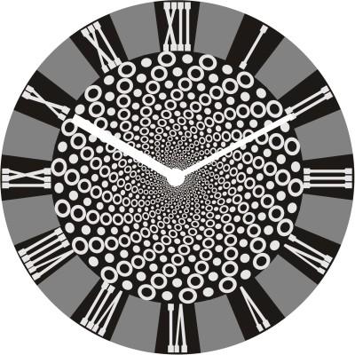 Onatto Analog 25 cm Dia Wall Clock