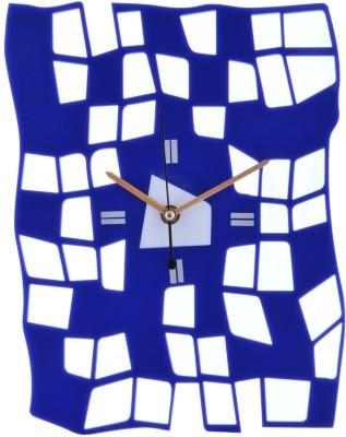 Ski Colour Analog Wall Clock