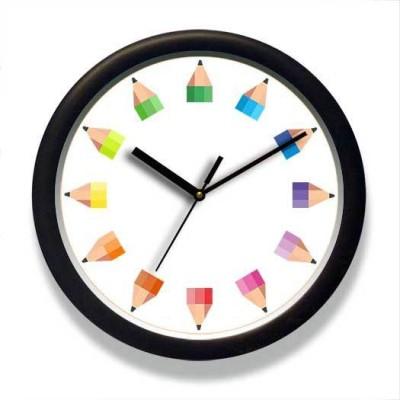 Engrave Analog 26.7 cm Dia Wall Clock