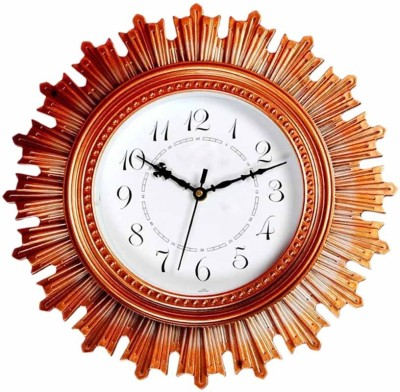 Cedar Antique Designer Round Analog Wall Clock