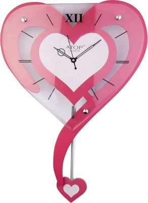 With Glass Analog Wall Clock