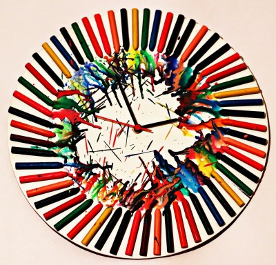 Kavi The Poetry Art Project Word Wall Clock