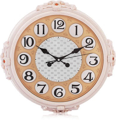 Fieesta Steven1816 White Color Classic Design Analog 46 cm Dia Wall Clock