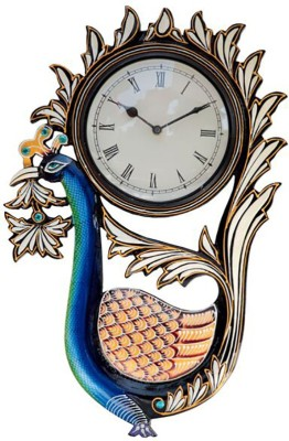 Interio Crafts Analog 15 cm Dia Wall Clock