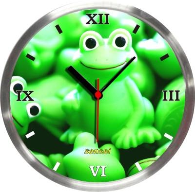 Sensei Analog 25 cm Dia Wall Clock