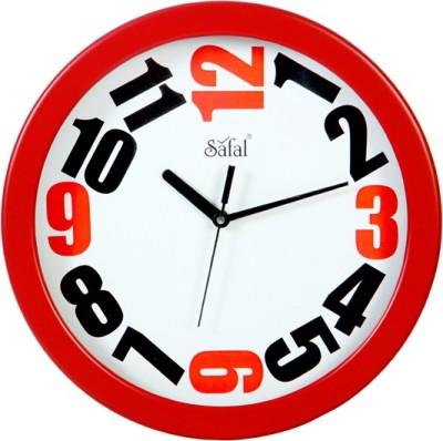 Safal Analog 28 cm Dia Wall Clock