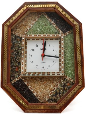 Gaura Art & Crafts Analog Wall Clock