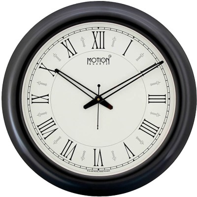 Fiesta Motion Quartz Analog 42 cm Dia Wall Clock