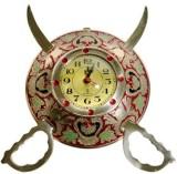 Bajya Analog Wall Clock (Multicolor, Wit...