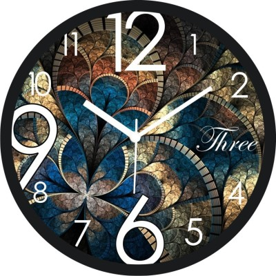 MGN Analog 28 cm Dia Wall Clock