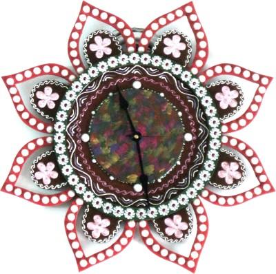 Seema's Craft Creation Analog Wall Clock