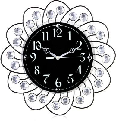 Victor302 Designer Molded Wrought Iron Analog Wall Clock